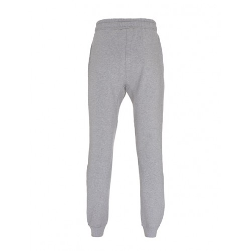 Biologische sweat pants uni grijs back Created by Earth