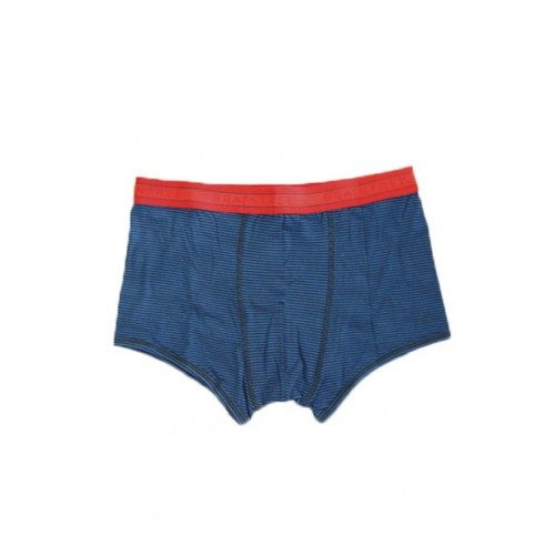 Bamboe boxers blauw gestreept Created by Earth