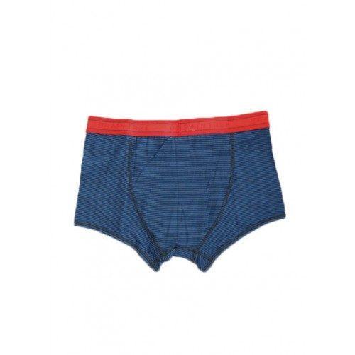Bamboe boxers blauw gestreept achterkant Created by Earth