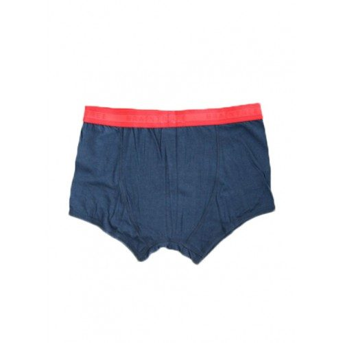 Bamboe boxers donker blauw achterkant Created by Earth
