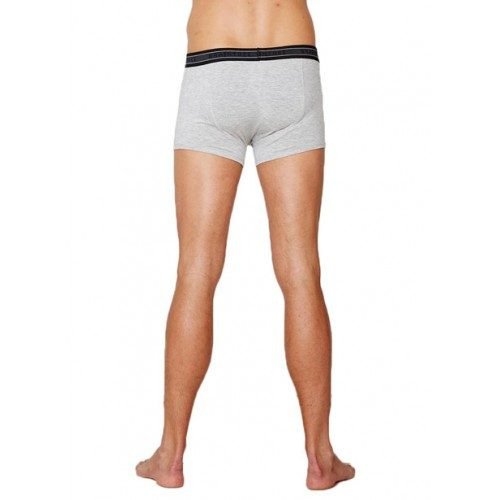 Bamboe boxers grey marle achterkant Created by Earth