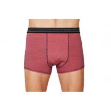 Bamboe boxers koraal rood gestreept Created by Earth