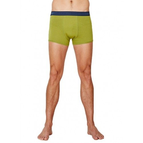 Bamboe boxers olijf groen Created by Earth