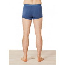 Bamboe boxershort blauw achterkant Created by Earth