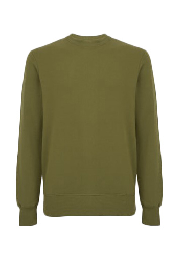 Biologische sweater khaki CReated by Earth