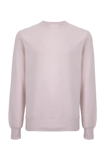 Biologische sweater roze Created by Earth