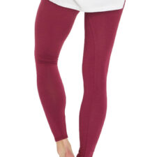 Bamboe leggings kersen rood Created by Earth