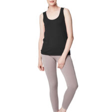 Bamboe leggings licht taupe Created by Earth