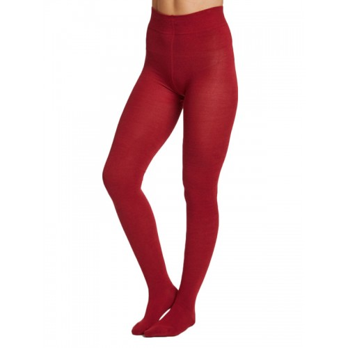 Bamboe maillot warm rood Created by Earth