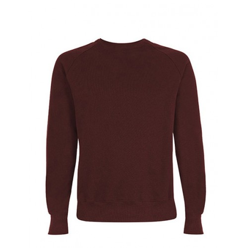 Biologische sweater bordeaux Created by Earth