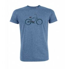 Biologisch T-shirt Beach Cruiser blauw Created by Earth