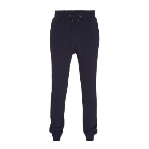 Biologische sweat pants uni blauw Created by Earth